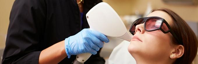 Laser skin rejuventation