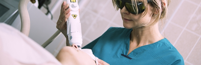 Beauty laser treatments