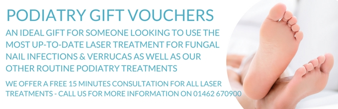 podiatry voucher web page