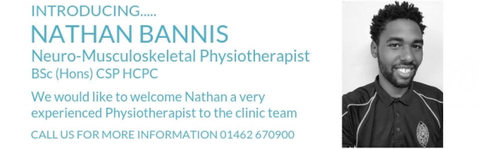 Nathan Bannis Neuro-Musculoskeletal Physiotherapist at The Letchworth Clinic